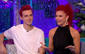 Joe Sugg and Dianne Buswell on SCD It Takes Two