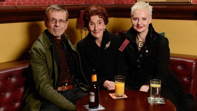 EastEnders Lofty, Dot, Mary