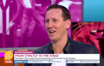 Brendan Cole on GMB