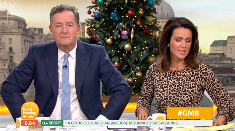 GMB bosses call doctor on air to help Piers Morgan diagnose cold