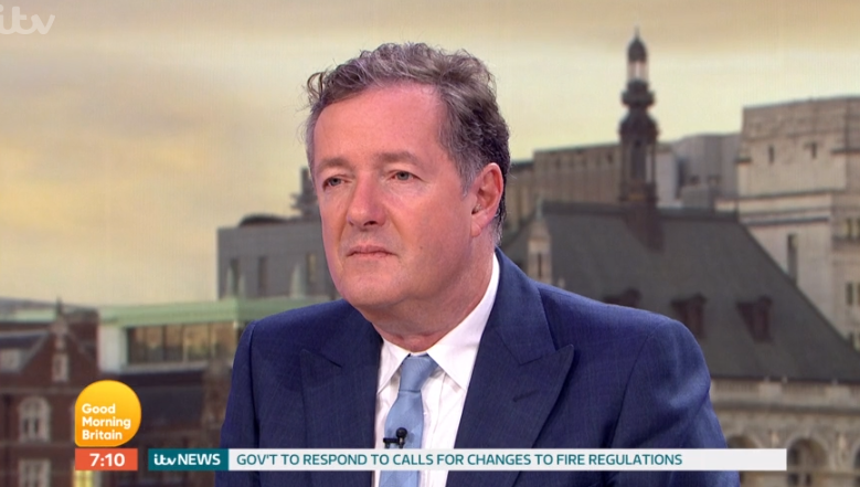 "Piers Morgan slams GMB guest for ""abusing everybody"" on set"