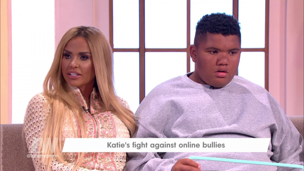 Outrage over Christmas jumper mocking Katie Price's disabled son, Harvey