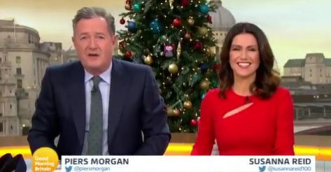 Piers Morgan forced to go to hospital after 'man flu' turns serious