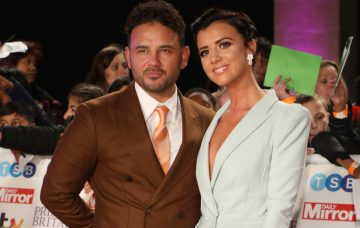 Ryan Thomas and Lucy Mecklenburgh at The Pride of Britain Awards 2018