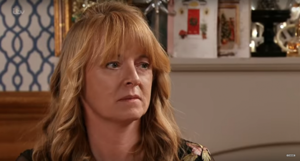 Jenny, Corrie Christmas (Credit: Corrie YouTube)