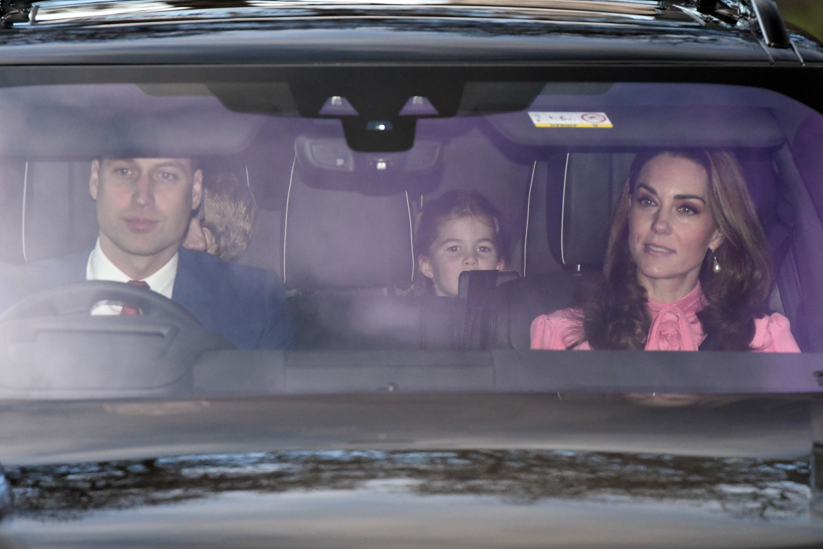 Royals Arrive At Buckingham Palace For The Queen's Christmas Lunch