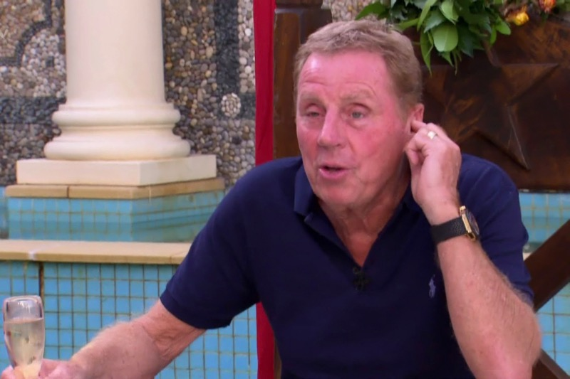 I'm A Celeb's Harry Redknapp to hand out jam roly polys to the homeless