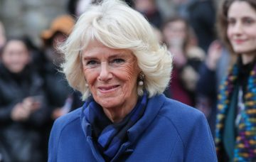 The Prince of Wales and The Duchess of Cornwall visit Ely Market.