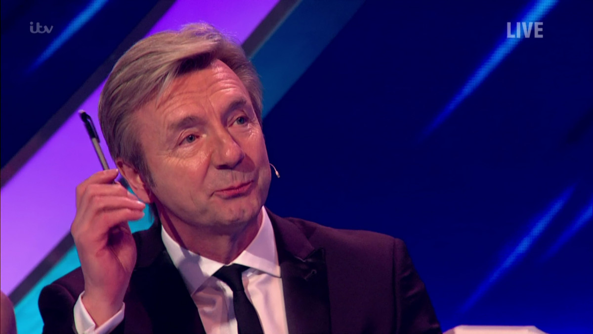 Christopher Dean during the Dancing on Ice: Semi Final