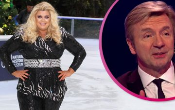 Gemma Collins and Christopher Dean