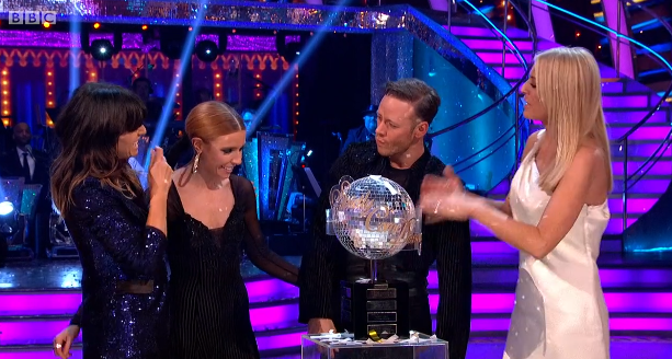 Stacey Dooley and Kevin Clifton win SCD