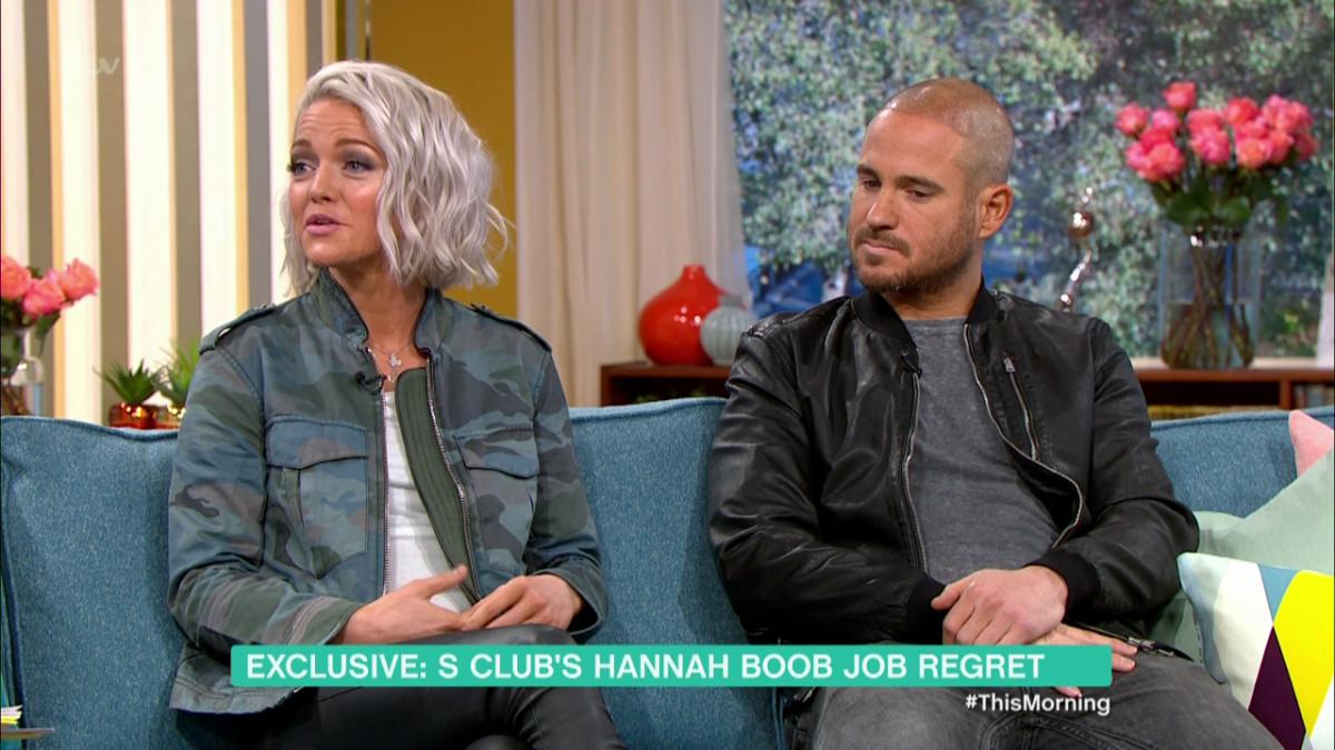Hannah Hannah Spearritt,Adam Thomas on This Morning
