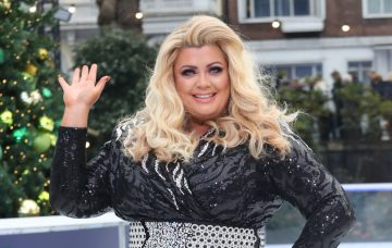 Gemma Collins at the Dancing on Ice photocall