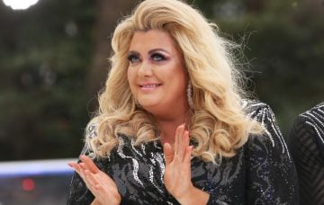 Gemma Collins at the Dancing On Ice Launch Photocall