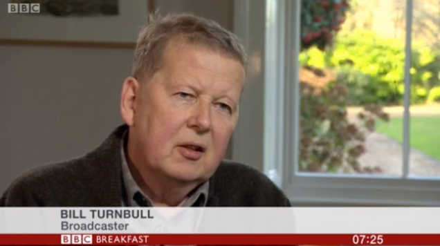 """Bill Turnbull makes rare TV appearance to discuss """"unbearable"""" chemotherapy"""