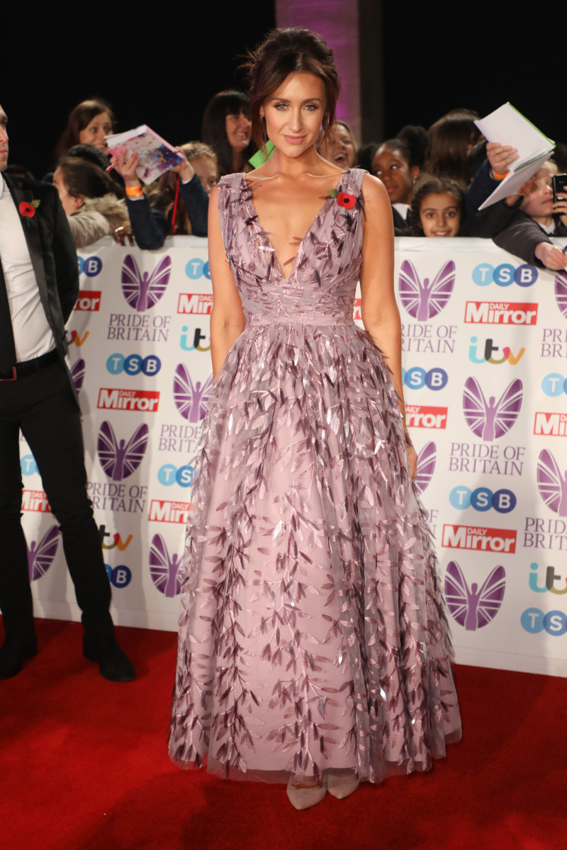 Catherine Tyldesley at The Pride of Britain Awards 2018