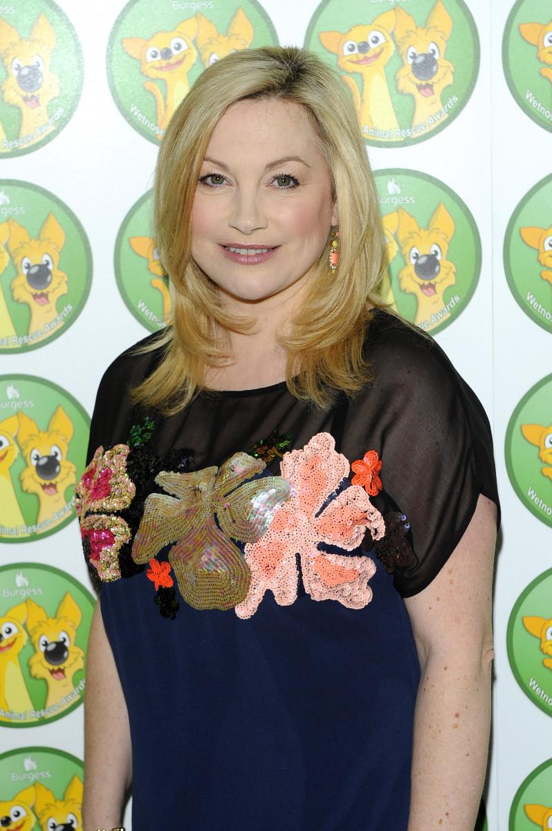 Wendy Turner Webster at the Burgess Wetnose Awards 2013