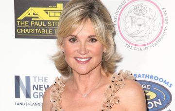 Anthea Turner at The Paul Strank Charity Gala