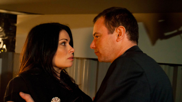 Frank Foster and Carla Connor in Coronation Street