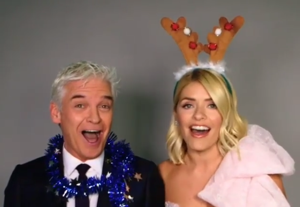 Phil and Holly share Christmas message with fans