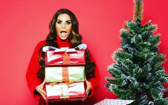 Katie Price ignores drama with ex as she delivers Christmas message