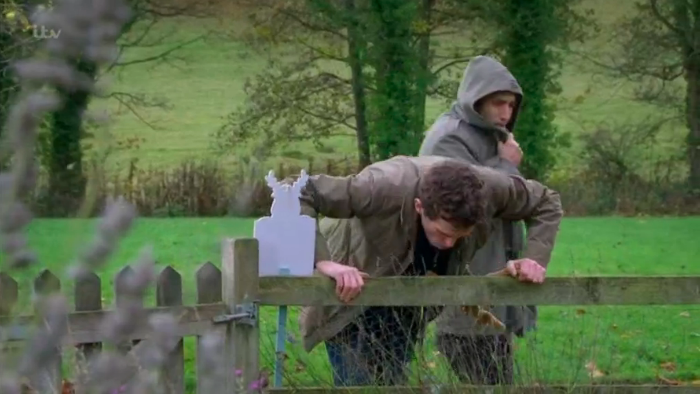 Emmerdale viewers put off their Christmas dinners by 'sick scenes'