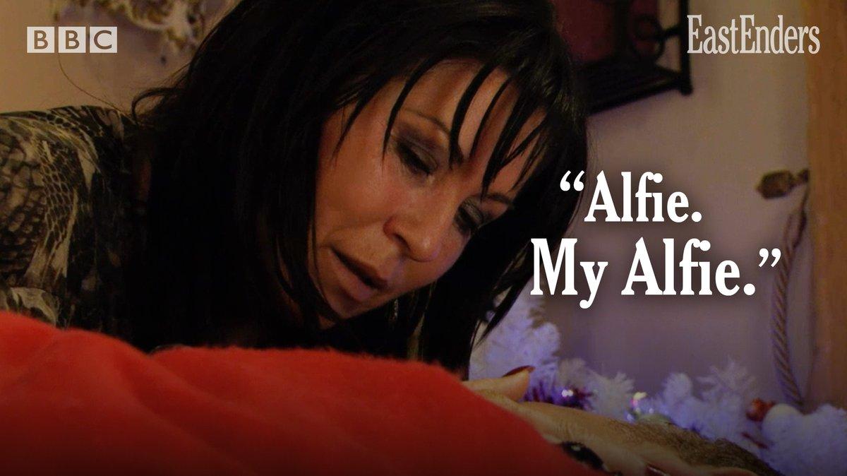 Kat Slater EastEnders Alfie dead