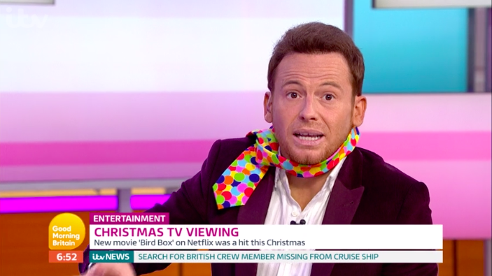 Joe Swash's hilariously rude blunder on Good Morning Britain