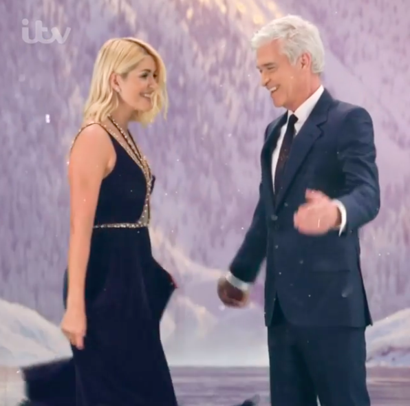 holly willoughby phil schofield doi dancing on ice (credit: dancingonice Instagram)
