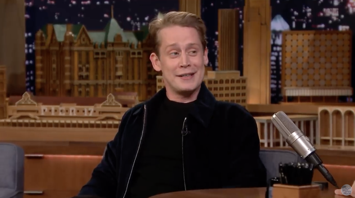 Macaulay Culkin 'jokes' on stage about Michael Jackson abuse allegations