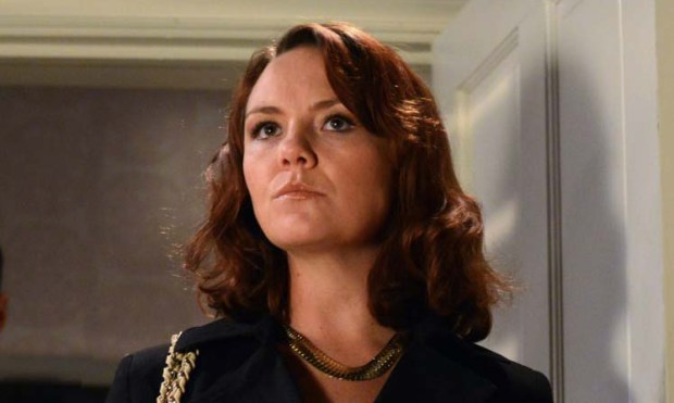 EastEnders' Janine returning to evict the Slaters?