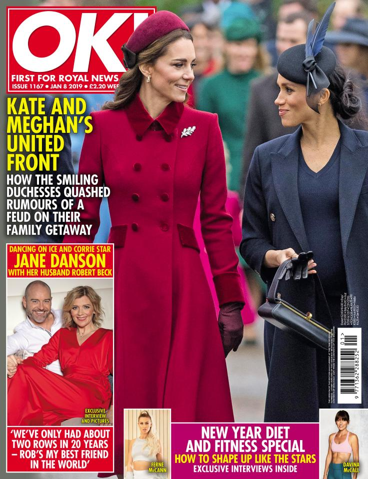 OK! Magazine cover - 31st Dec