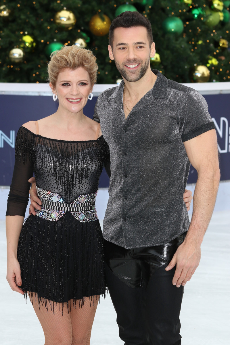 Jane Danson at the Dancing On Ice Launch Showcase at the Natural History Museum
