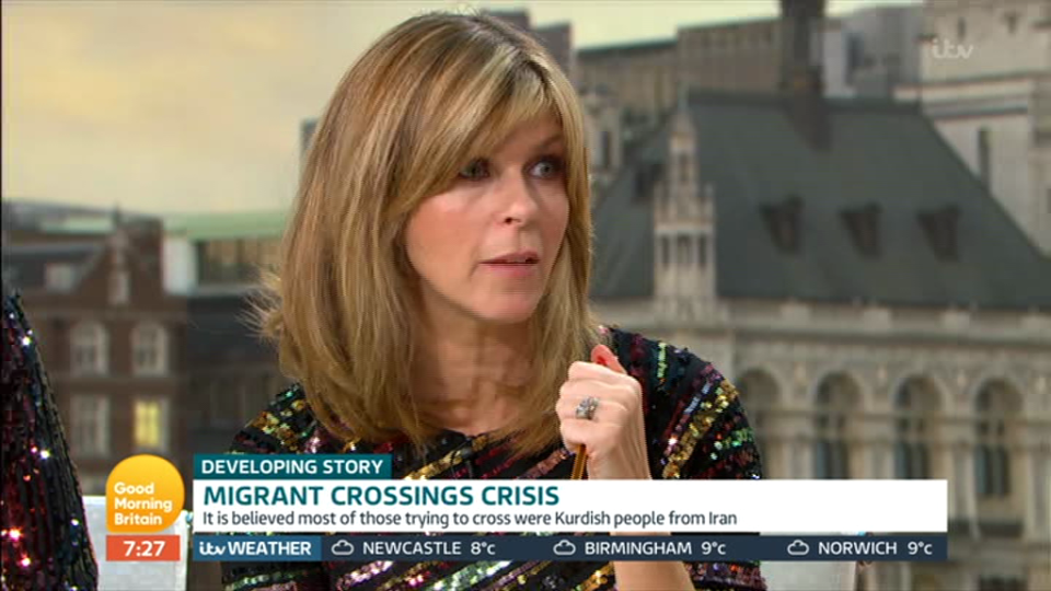 Kate Garraway clashes with furious GMB guest during heated debate