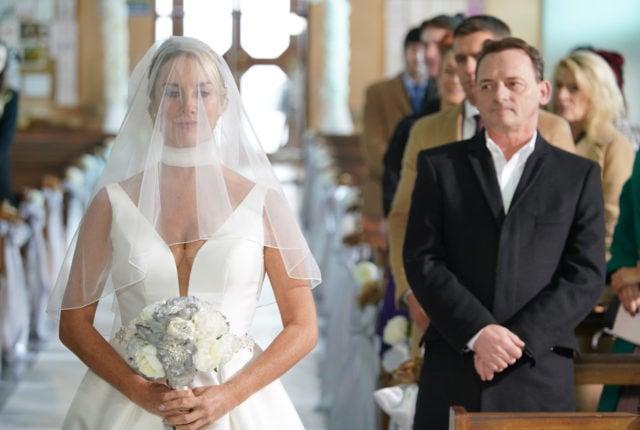 "Mel Owen's wedding dress had ""practical"" pockets and EastEnders fans LOVED it!"