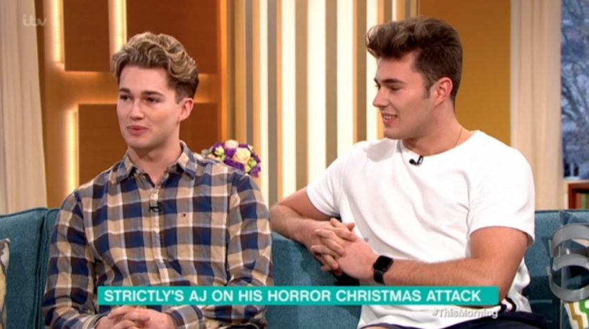 AJ Pritchard and brother Curtis give first interview after vicious Christmas attack