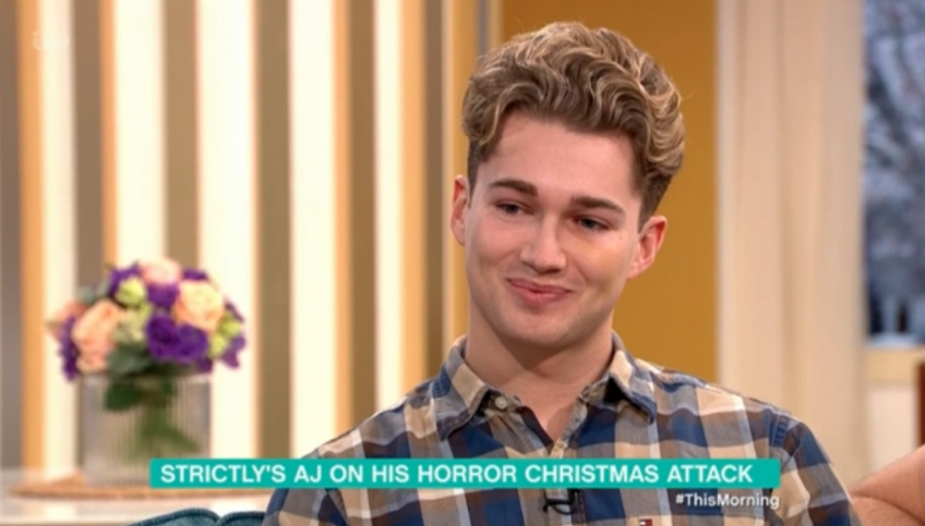 AJ Pritchard on This Morning