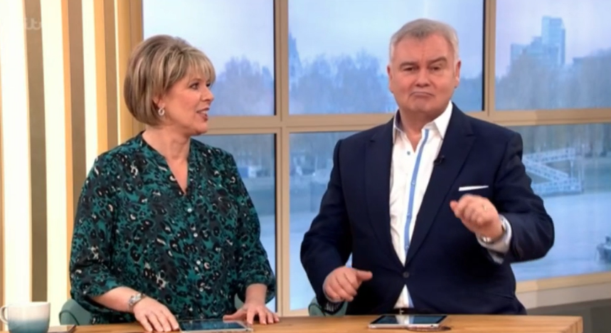 "This Morning fans slam Eamonn Holmes for calling wife Ruth Langsford ""very fat"""