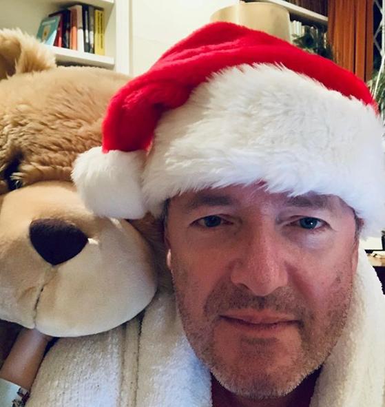 Piers Morgan on Christmas Day