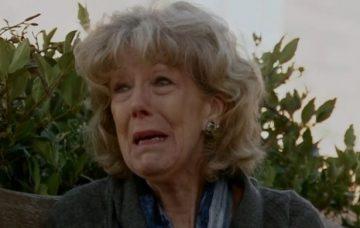 Coronation Street Audrey crying