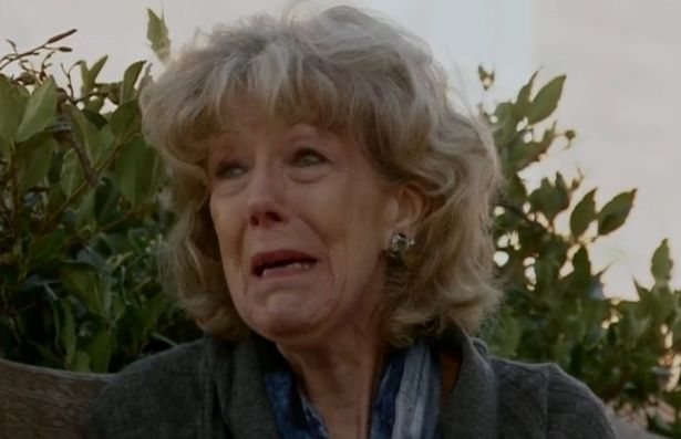 Coronation Street Audrey crying
