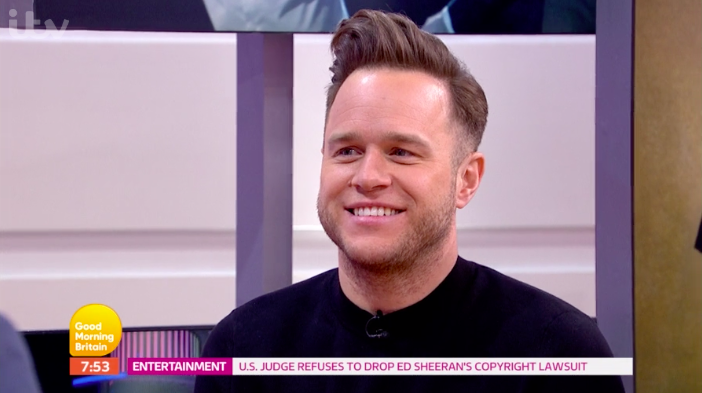 Olly Murs jokingly accused of being a 'diva' on Good Morning Britain