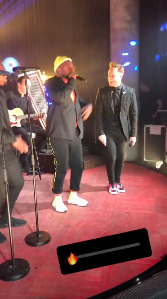 will i am olly murs the voice (credit: ollymurs Instagram)