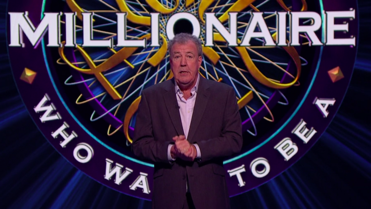 "Viewers blast Jeremy Clarkson for ""helping"" contestant win £16k on Who Wants To Be A Millionaire"