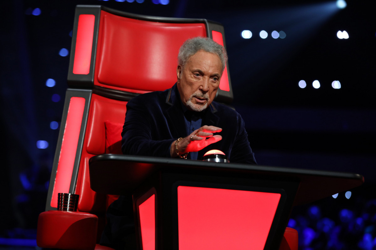 Sir Tom Jones gobsmacked when son of famous pal turns up on The Voice