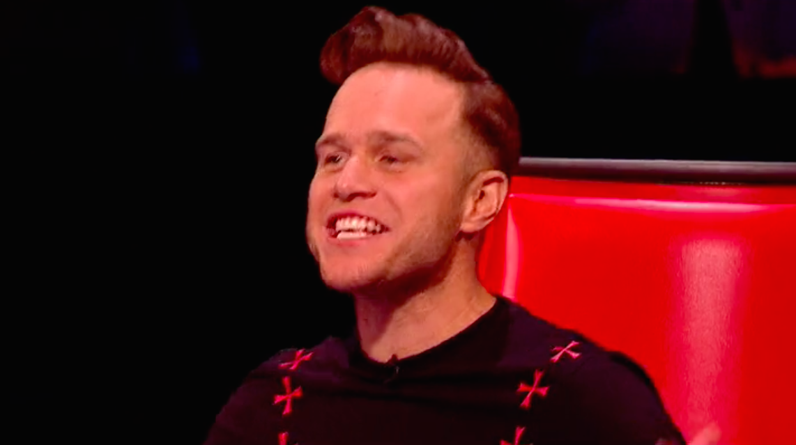Olly Murs' gross behaviour on The Voice repulses viewers