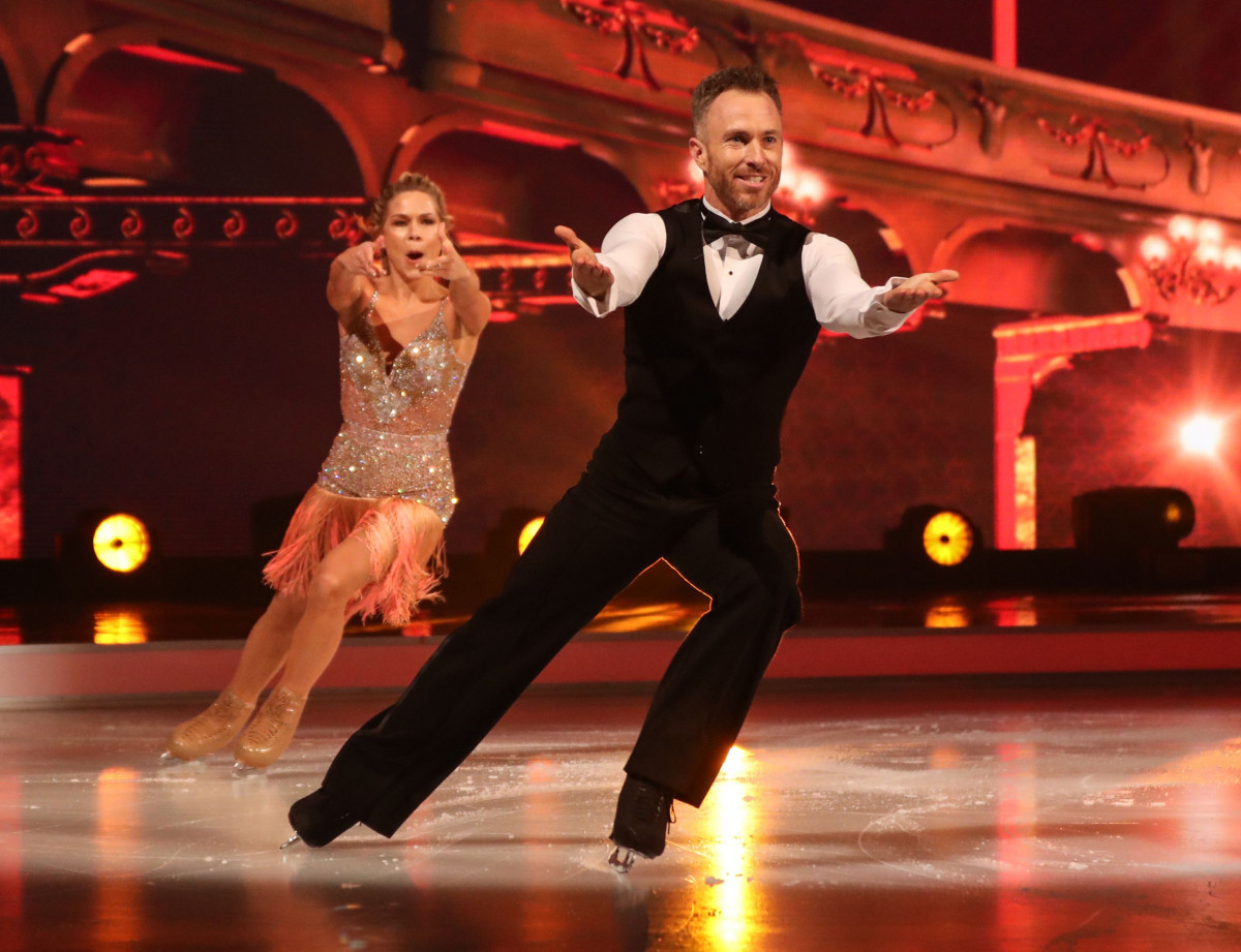 James Jordan claims Dancing On Ice has wrecked his sex life