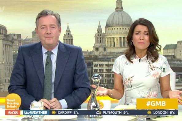 Piers Morgan mocks Ant McPartlin's nomination for National Television Awards