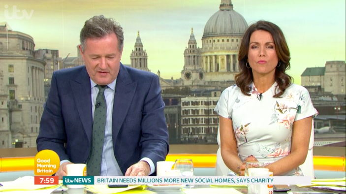Good Morning Britain debates whether women over 50 are too old to love!