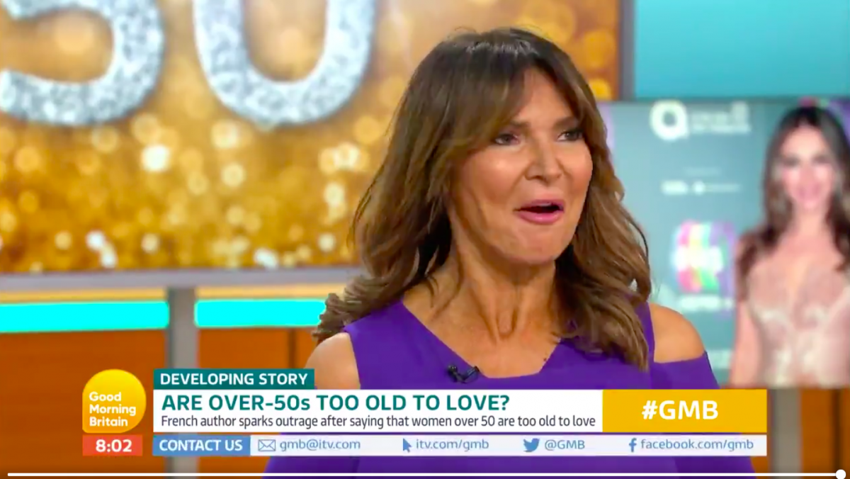 good morning britain gmb lizzie cundy